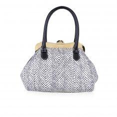 Lara - Small handbag in elaphe