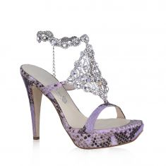Danilo di Lea - Sandal with Aurora Borealis crystal decorations