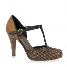 Emanuela Passeri - Sandal with bi-color straps