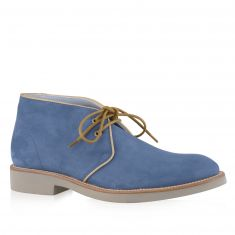 Alberto Lanciotti - Summer desert boots with edging