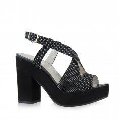 Danilo di Lea - Pic Pois sandal with platform