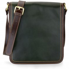 Avorio - Reporter crossbody bag - 22x26x11