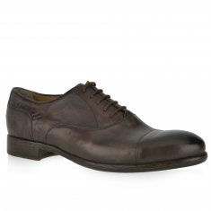 Alberto Lanciotti - Oxford shoe in stone washed calfskin
