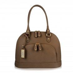 Avorio Nero - Mud leather medium shoulder bag